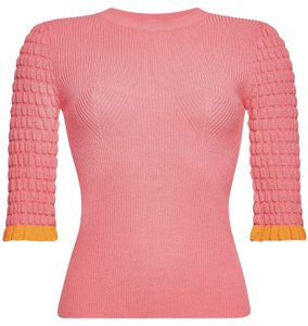chloe Magenta Spring By And Orange Sweater