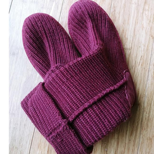 Item - Purple Ribbed Knit Boots/Booties Size US 11 Regular (M, B)