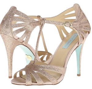 Betsey Johnson glitter and teal Formal