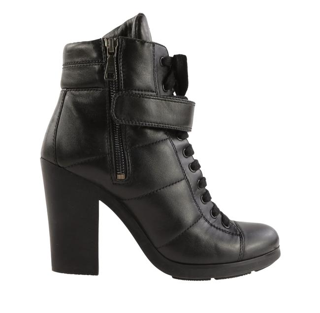 Item - Black Lace-up Booties Sneakers Size EU 39 (Approx. US 9) Regular (M, B)