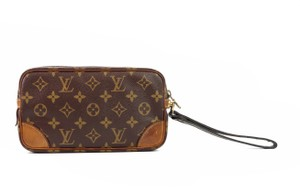 Louis Vuitton Vintage Marly Dragonne 22 Monogram Canvas Makeup Travel Toiletry Bag