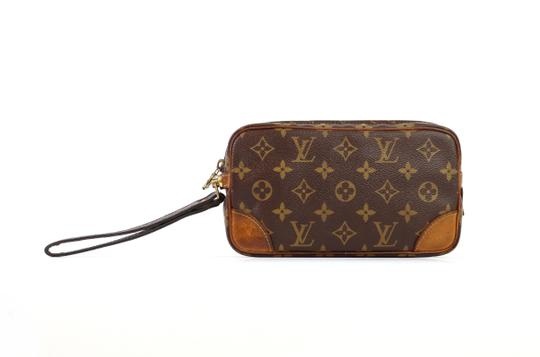 Louis Vuitton Vintage Marly Dragonne 22 Monogram Canvas Makeup Travel Toiletry Bag Image 2