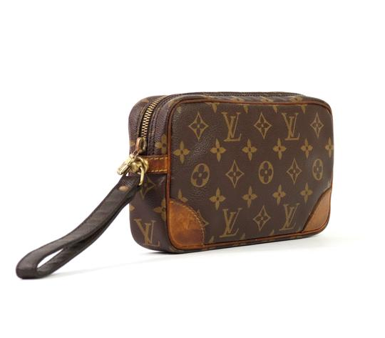 Louis Vuitton Vintage Marly Dragonne 22 Monogram Canvas Makeup Travel Toiletry Bag Image 8