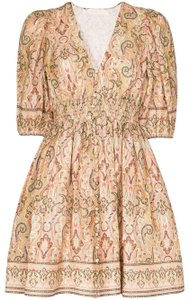 ZIMMERMANN short dress paisley print Freja Summer 7146dfre on Tradesy