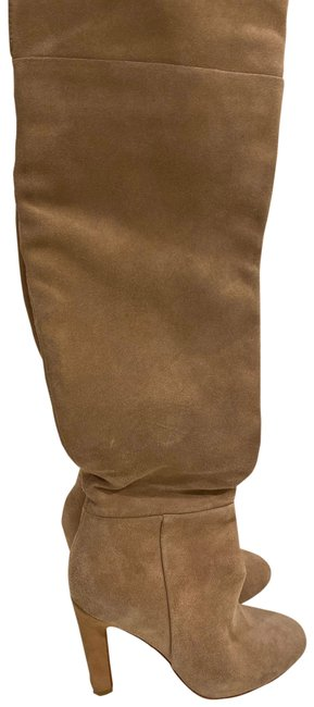 Joie Camel Over The Knee Suede Boots/Booties Size US 6 Regular (M, B) Joie Camel Over The Knee Suede Boots/Booties Size US 6 Regular (M, B) Image 1