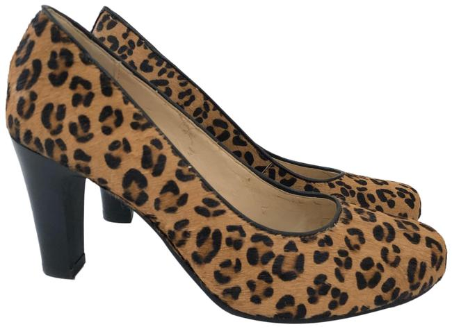 Jones New York Tan Brown Black Broadway 2 Leopard Calf Hair Pumps Size US 6.5 Regular (M, B) Jones New York Tan Brown Black Broadway 2 Leopard Calf Hair Pumps Size US 6.5 Regular (M, B) Image 1