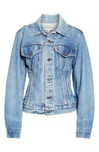 RE/DONE Re/Done Levi's Corset Cotton Womens Jean Jacket