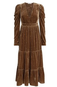 Taupe brown Maxi Dress by Ulla Johnson