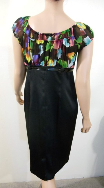 AGB Clothing Empire Waist Belted Dress Image 2