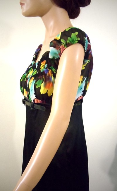 AGB Clothing Empire Waist Belted Dress Image 3