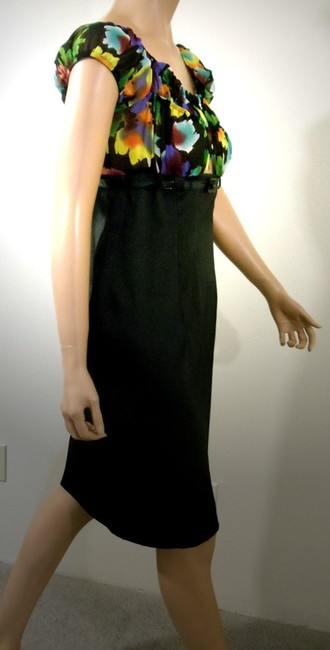 AGB Clothing Empire Waist Belted Dress Image 5