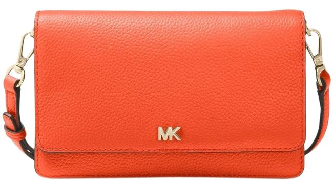 Item - Phone Sea Coral Leather Cross Body Bag