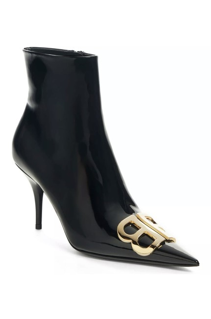 Item - Black New Patent Leather 10 Boots/Booties Size EU 40.5 (Approx. US 10.5) Narrow (Aa, N)