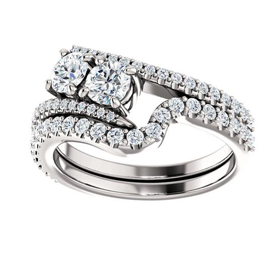 Preload https://img-static.tradesy.com/item/26659964/white-150-ct-ladies-round-mounting-engagement-ring-0-1-540-540.jpg