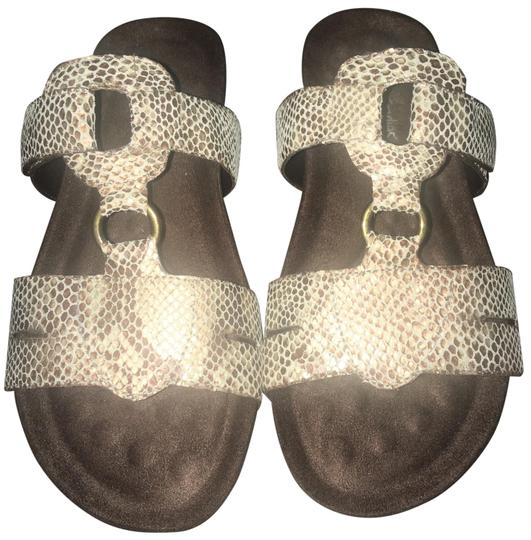 Preload https://img-static.tradesy.com/item/26660001/brown-and-tan-penny-low-faux-snake-sandals-size-us-7-wide-c-d-0-3-540-540.jpg