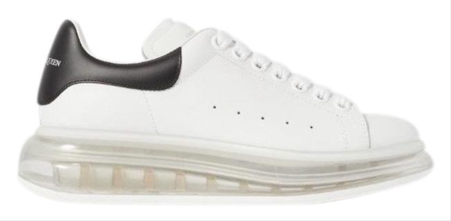 Alexander McQueen Oversized Transparent Sole Leather Sneakers Size EU 37.5 (Approx. US 7.5) Regular (M, B) Alexander McQueen Oversized Transparent Sole Leather Sneakers Size EU 37.5 (Approx. US 7.5) Regular (M, B) Image 1