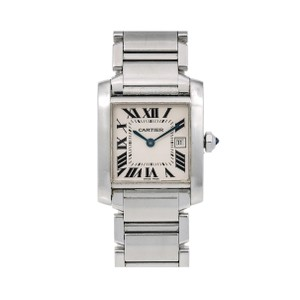Cartier Cartier Tank Française W51011Q3 25 x 31 mm White Dial With Stainless S