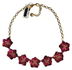 Kate Spade Kate Spade Strawberry Fields Necklace Uniquely Sculptural Handcrafted for a Modern Romantic Look