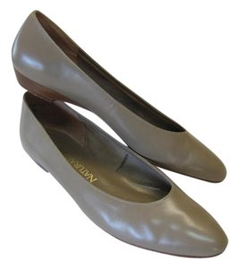 Naturalizer Shoe Nauralizer Leather TAUPE Flats