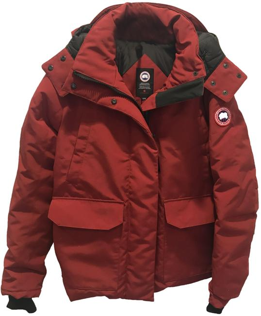 Item - Red Blakely Water Resistant 625 Fill Hip Length Parka Coat Size 16 (XL, Plus 0x)