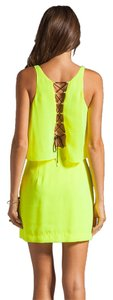 Dolce Vita Neon Mini Corset Dress