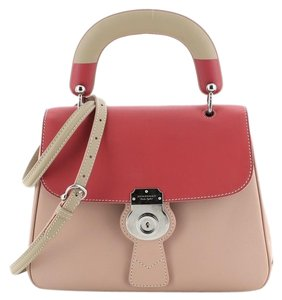 Burberry Handbag Leather Tote in Multi Color, Pink