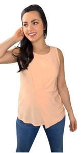 DKNY Sleeveless Tank Artisan Top Peach