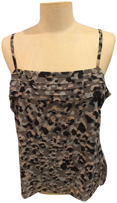 Item - Green Multi Animal Print Tank Top/Cami Size 8 (M)