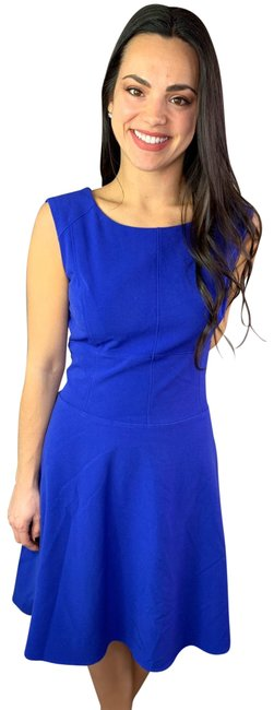 Item - Blue Andrew Sleeveless Short Cocktail Dress Size 8 (M)