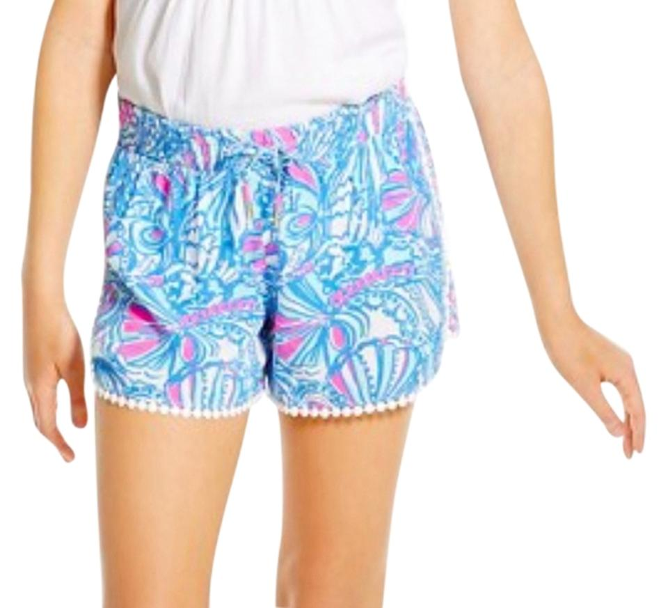 7a11ac37c Lilly Pulitzer for Target Pom Pom Mini/Short Shorts My Fans Image 0 ...