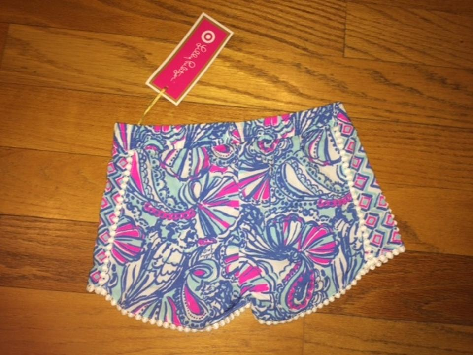 d3a86f511 Lilly Pulitzer for Target My Fans Girls' Pompom - Small 6/6x Shorts ...
