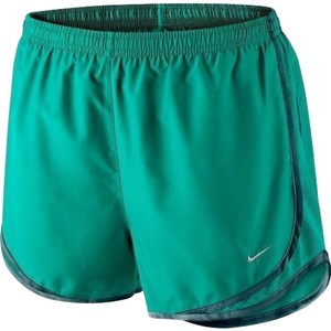 Nike NIKE Women's Dri-FIT Tempo Running Shorts 624278-356 Teal Size Small
