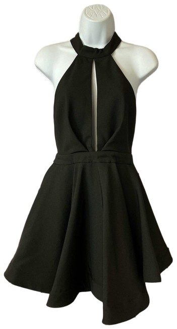 Item - Black Fit and Flare M Short Night Out Dress Size 8 (M)
