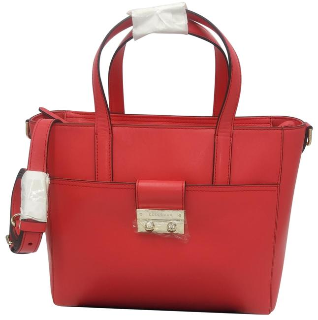 Item - Bag Lock Group Small Pink Leather Tote