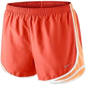 Nike NIKE Women's Dri-FIT Tempo Running Shorts Size S Orange