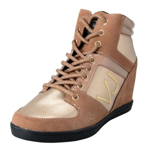 Versace Jeans Collection Brown Wedges