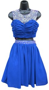 Josh and Jazz Prom Homecoming Two-piece Blue Dress