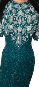 Laurence Kazar NY Evening Sequins Beads Dress