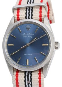 Rolex VINTAGE STAINLESS STEEL MENS AIR KING OYSTER PERPETUAL WATCH 36MM