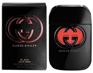 Gucci GUCCI GUILTY BLACK FOR WOMAN EDT SPRAY 2.5 OZ / 75 ML,NEW & SEALED