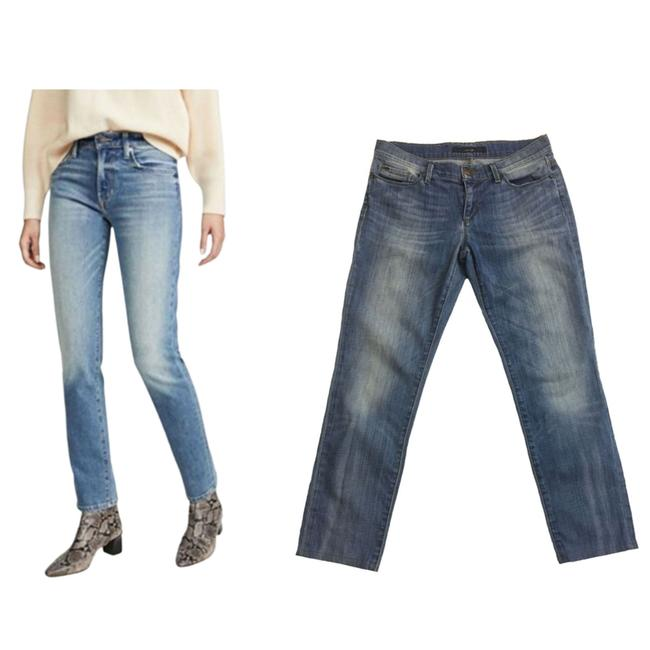 Item - Blue Hannah Cigarette Denim Women's Straight Leg Jeans Size 28 (4, S)