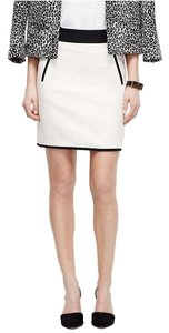 Ann Taylor Mini Skirt Winter White