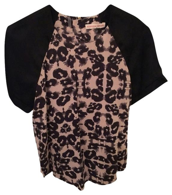 Preload https://item1.tradesy.com/images/rebecca-taylor-blackleopard-blouse-size-2-xs-2666515-0-0.jpg?width=400&height=650