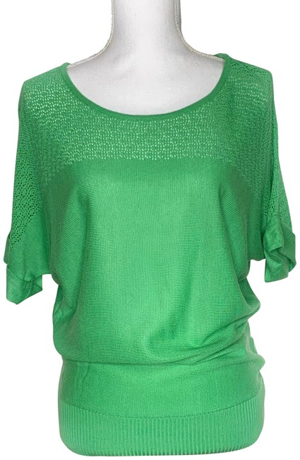 Item - Green Co Short Sleeve Sweater Blouse Size 2 (XS)