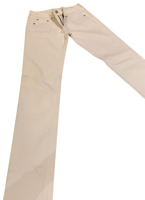 Item - Slightly Off White 108879 Skinny Jeans Size 0 (XS, 25)