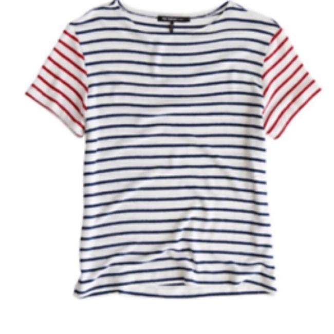 Item - Red Blue White & Neptune M Tee Shirt Size 4 (S)
