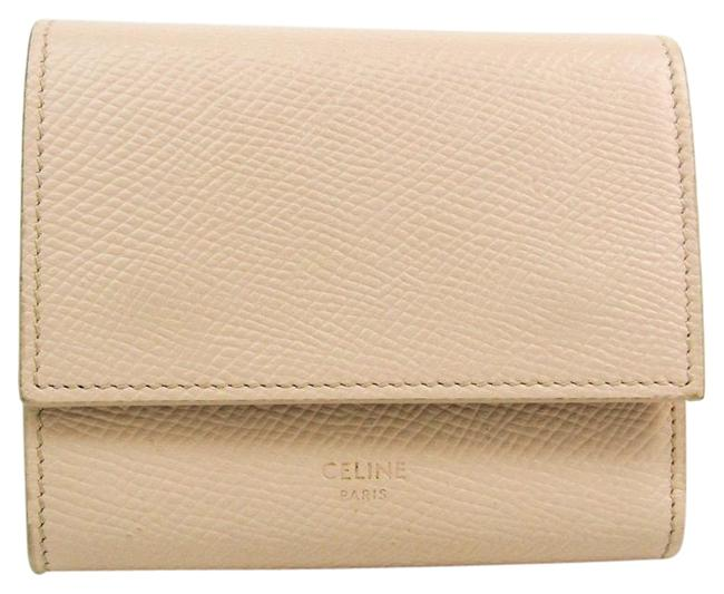 Item - Ivory Tri-Fold Small Trifold 10b573 Women's Embossed Calf Leather (Tri-fold) Wallet