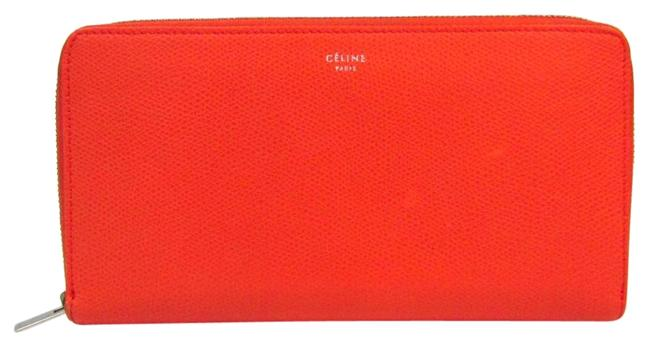 Item - Orange Long Women's Leather (Bi-fold) Wallet