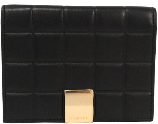 Preload https://img-static.tradesy.com/item/26667755/chanel-black-bar-quilted-leather-card-holder-cover-0-1-540-540.jpg
