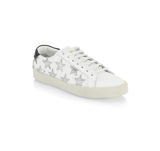 Saint Laurent White Athletic Image 2